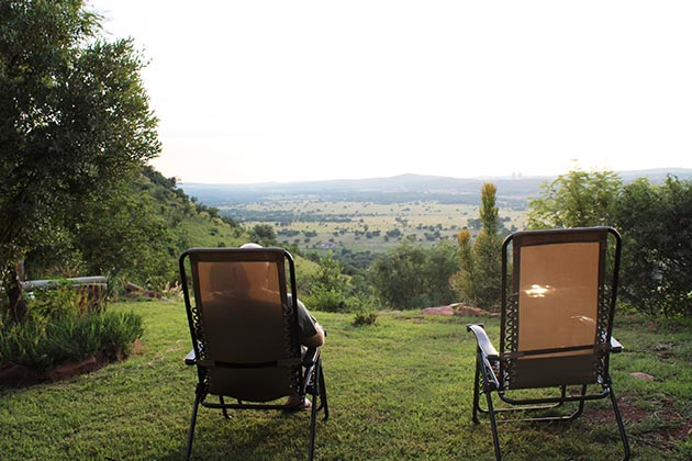 Oppiberg Guest House - Hartbeespoort accommodation - North West