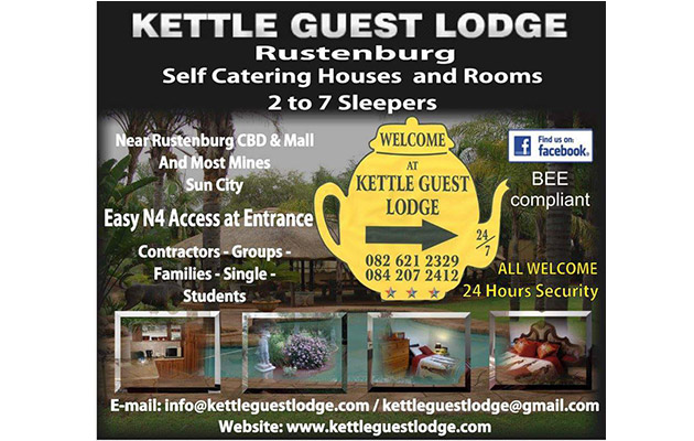 KETTLE GUEST LODGE