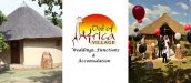 OUT OF AFRICA VILLAGE - Weddings, Functions & Accommodation